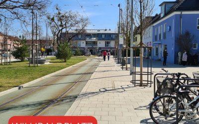 Mehr Aufenthaltsqualität am Willibaldplatz